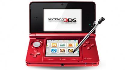 Nintendo 3DS in Rot