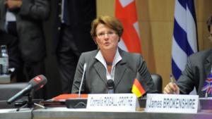 IT-Staatssekretärin Cornelia Rogall-Grothe im Jahr 2010