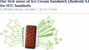 Ice Cream Sandwich: HTC bringt erste Updates auf Android 4.0 Ende März