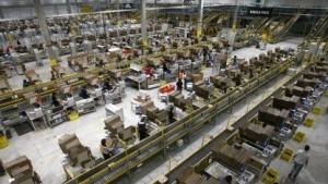 Amazon-Lager in Leipzig
