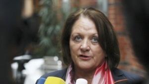 Bundesjustizministerin Leutheusser-Schnarrenberger im Oktober 2011
