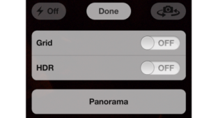 Die Panoramafunktion in iOS 5
