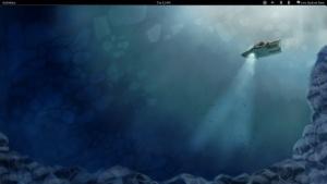 Fedora 16 mit der Oberfläche Gnome 3.2