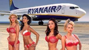 Werbung für den The Girls of Ryanair Kalendar