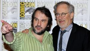 Peter Jackson und Steven Spielberg auf der Comic Con 2011