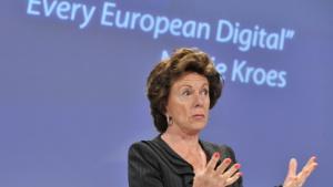 Neelie Kroes, EU-Kommissarin für Digitale Agenda