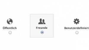 Facebooks Privatsphäre-Einstellungen
