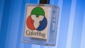 Mit der Open-Source-Hardware Colorhug lassen sich LC- und LE-Displays kalibrieren.