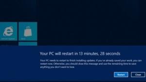 Bei automatischem Windows-Update wird der PC nach drei Tagen neu gestartet.