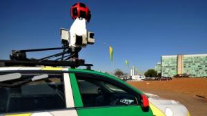 Googles Street-View-Autos kartografieren WLANs.
