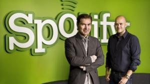 Die beiden Spotify-Gründer Daniel Ek und Martin Lorentzon