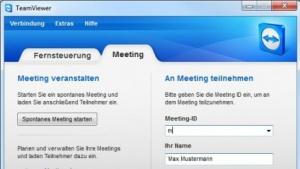 Teamviewer 7 Beta für Windows unterstützt auch Online-Meetings.