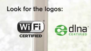 Die Logos von DLNA und Wi-Fi Alliance aus dem Gadget Guide