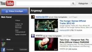 Relaunch: Neue Youtube-Website gestartet