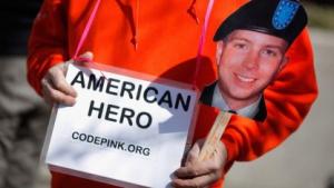 Anklage wegen Spionage: Solidaritätskundgebung für Manning im März 2011