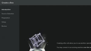 Boxes ist ein grafisches Frontend für KVM unter Gnome.