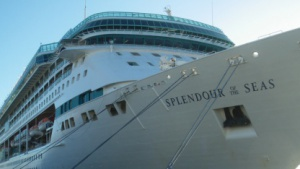 Splendour of the Seas sticht mit iPads in See.