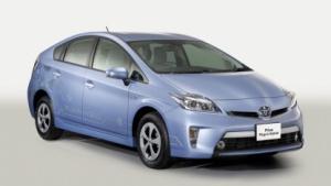 Toyota Prius: Platz nehmen auf dem Rücksitz