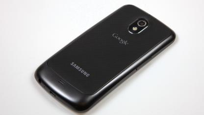 Auf dem Galaxy Nexus von Samsung läuft Android 4.0 alias Ice Cream Sandwich.
