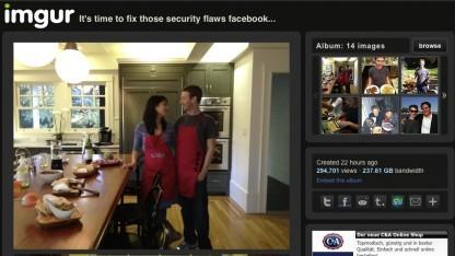 Private Fotos von Facebook-Chef Zuckerberg konnten auch ausgelesen werden.