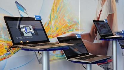 Ivy-Bridge-Ultrabooks auf dem Intel Developer Forum