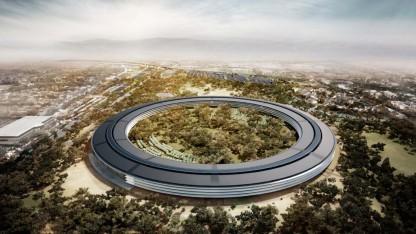 Entwürfe für den Apple Campus 2 von Norman Foster