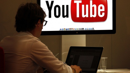 Youtube-MIPCOM-Messestand 2011 in Cannes