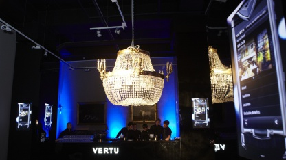 Vertu-Launch-Party am 15. November 2011 in Moskau