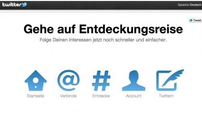 Twitter im neuen Design