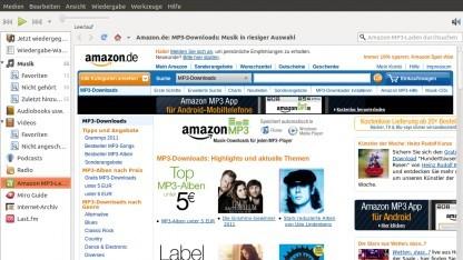Linux Mint behält die Hälfte der Einnahmen des Amazon-Plugins von Banshee.