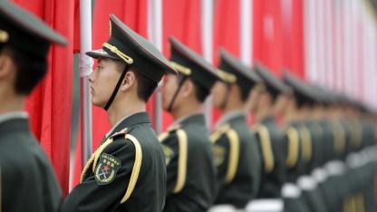 Chinesische Soldaten: 12 Gruppen mit Verbindung zur VBA