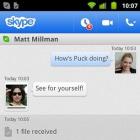 Skype 2.6: Fotos und Videos unter Android direkt versenden
