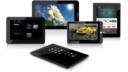 Fünf Tablets mit Android 4.0 angekündigt