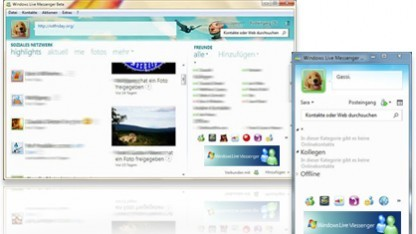 Windows Live Messenger per XMPP erreichbar