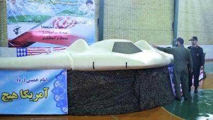 Original oder Nachbau: Iranisches Fernsehen zeigt entführte US-Drohne.