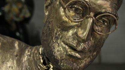 Statue von Steve Jobs in Budapest