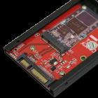 Adapter: CFast und mSATA-SSDs als PC-Festplatten