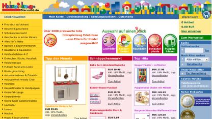 Holzspielzeug-Discount.de wurde offenbar wegen tausender Badlinks abgestraft