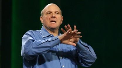 Microsoft -Chef Steve Ballmer auf der CES 2011