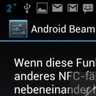 Datentausch per NFC: Android Beam mit dem Galaxy Nexus ausprobiert