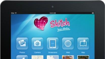 Skitch auf dem iPad