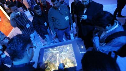 Bing Maps im Jahr 2010 auf der CES in Las Vegas