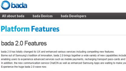 Update auf Bada 2.0 verzögert sich.