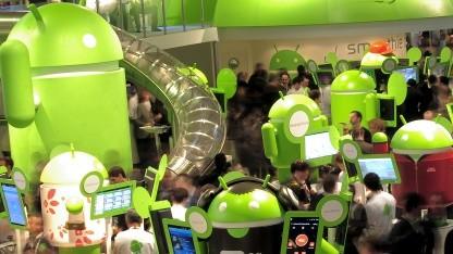 Android ist die dominierende Smartphoneplattform.