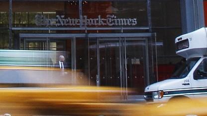 Gebäude der New York Times