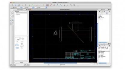 Freie 2D-CAD-Software LibreCAD 1.0 für Linux, Windows und Mac OS X