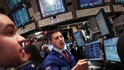 Händler an der New York Stock Exchange