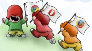 Chrome ist im Peacekeeper seit Mai 2009 vorn.