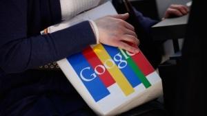 Google-Tasche auf der Cebit 2011