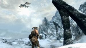 Drachen fliegen in Skyrim nicht mehr rückwärts.
